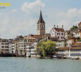 Stadt Zurich - Image by Julian Hacker from Pixabay